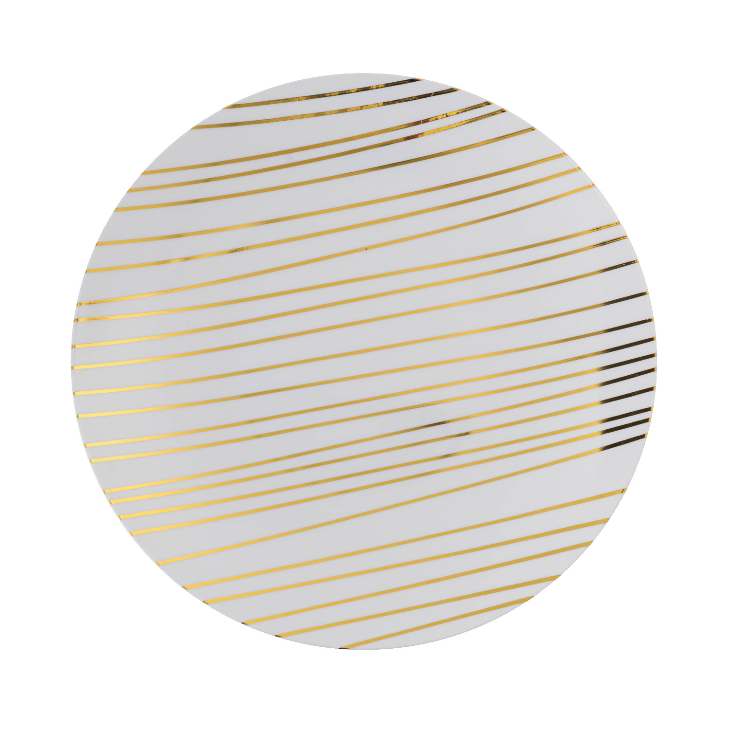 8 in glam design plastic plates 10 ct
