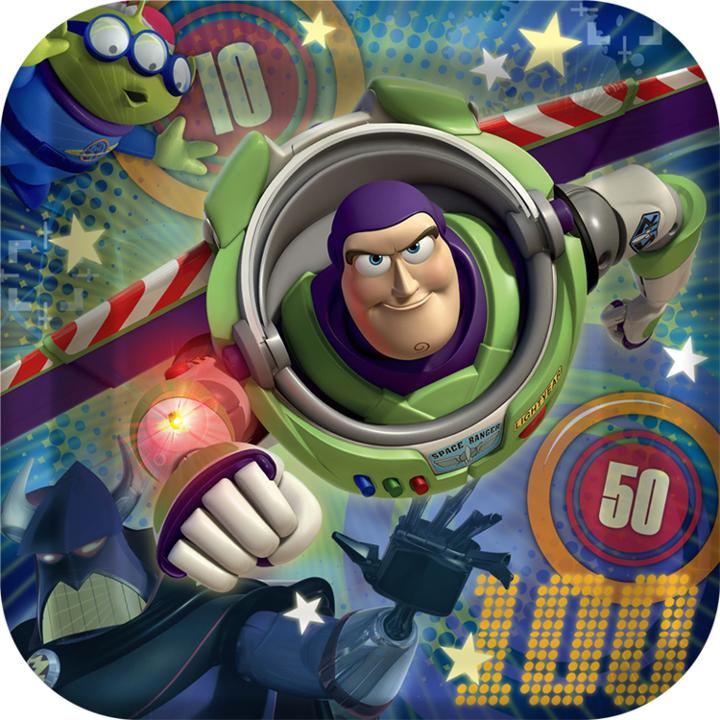 Toy Story Birthday Games : Toy story game time inch paper plates
