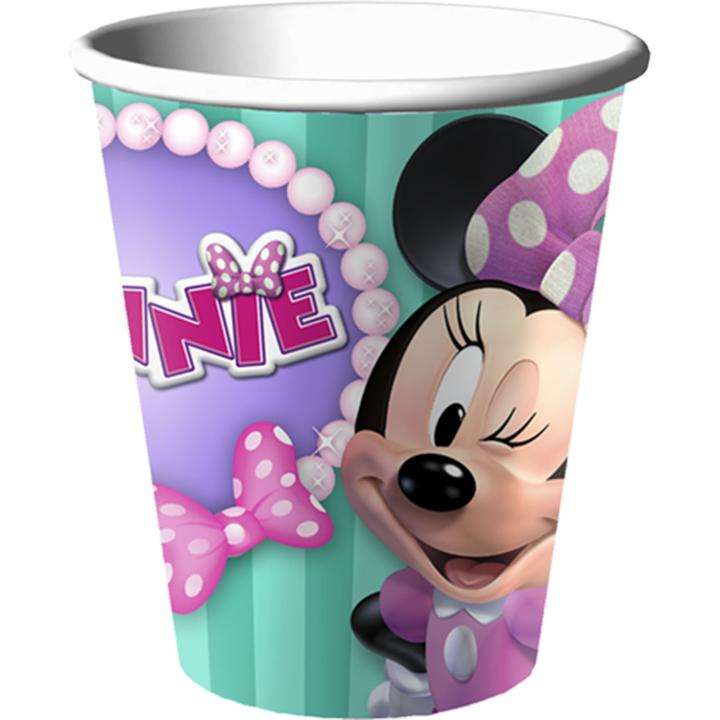 Minnie Mouse Bow-tique Dream Party 9 0z Cups