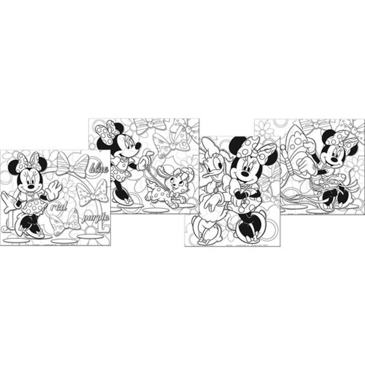 Minnie mouse puzzles for Minnie mouse bowtique coloring pages