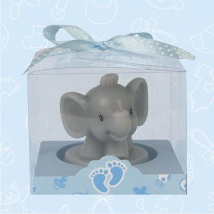 safari elephant baby shower candle favor safari elephant baby shower